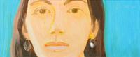 Alex Katz, Study for Corinne, at Fuller's May 8th sale.
