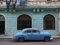 Shades of Blue la Habana Cuba, archival pigment print, 15 x 20