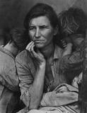 Dorothea Lange, Migrant Mother, Nipomo, 1936.  Gift of Paul S.  Taylor.