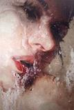Alyssa Monks, Look 2010, Oil on linen, 42 x 28 in.