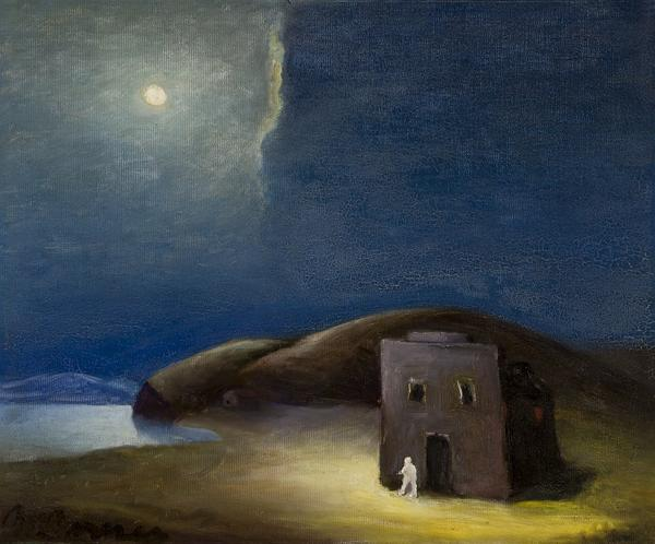 "Matthew Barnes, ""Hermit's Shack, No.  114,"" 1939.  Collection of Bram and Sandy Dijkstra"