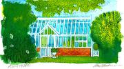 Fine Art Daily, Greenhouse at The Inn at Perry Cabin