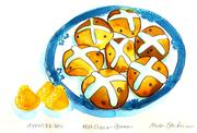 Fine Art Daily, Hot Cross Buns, Charles and Camilla