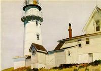 "Edward Hopper's ""Light at Two Lights,"" 1927, is part of American art collection at the Montgomery Museum of Fine Arts."