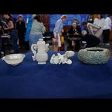 A Qing Dynsasty jade collection valued on Antiques Roadshow for between $710,000 to $1,070,000.