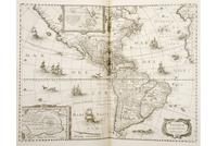 A rare first English edition of Gerard Mercator´s Atlas, 1636, sold for $35,380.