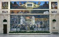 Detroit Industry, north wall, Diego Rivera, 1932-33, fresco.