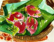 Fine Art Daily, odd fruit, Dragon Fruit