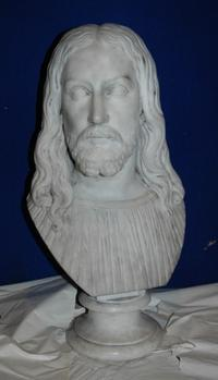 Bust of Christ by Edmonia Lewis, 1870