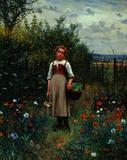 Daniel R.  Knight painting from Schwarz Gallery.