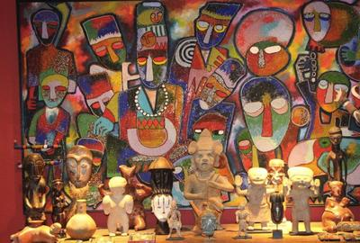 Collections from the Shango Art Gallery