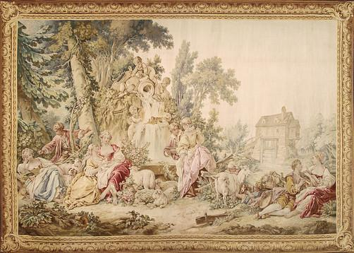 Francois Illas New Tradition: Woven Masterpieces: Aubusson Fine Art Tapestries
