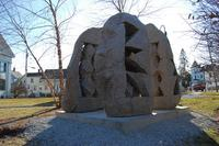 Jesse Salisbury, Anatomy of a Boulder, 2004, granite.