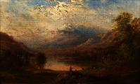 Robert Scott Duncanson, The Apennines, Italy Estimate: $30,000-$50,000