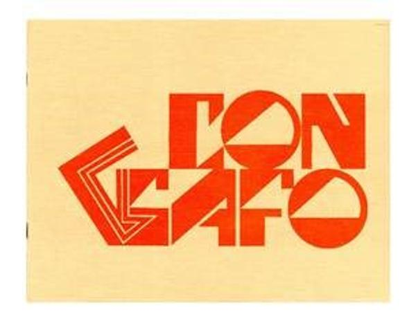 "Con Safo."" San Antonio, 1970.  Courtesy of Mel Casas, San Antonio.  This brochure begins with a part-dictionary, part-humorous definition of the words Con Safo, followed by an anonymous short essay that functions as a manifesto for the Con Safo artist collective.  In it, the group outlines the reality of a Chicano sensibility, yet given its hybrid nature, also argues for its universality"