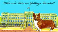 Fine Art Daily, Buckingham Palace, corgi