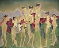 "Manierre Dawson, ""Seven,"" 1914"