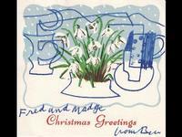 Christmas cards at Tate Britain