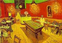Van Gogh, The Night Cafe.  Yale University.