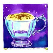 Fine Art Daily, Cup of 'Tis the Season Eggnog