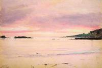 Afterglow, Stillwater Cove, Lockwood de Forest, 1917; courtesy Sullivan Goss – An American Gallery, Santa Barbara