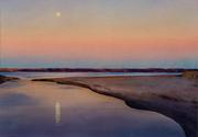 David Dewey Sachuest Moonrise