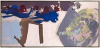 "Friedel Dzubas (1914-1994), ""Renewal,"" 1961, oil on canvas, 33 x 70 inches"