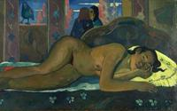 Paul Gauguin, Nevermore, Courtauld Gallery.
