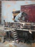 "Daniel Pitin, Sleeping Ogre, 76x59"", 2010"