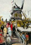 The Museum de Fundatie's 'Le Blute-Fin Mill' has been authenticated as a painting by Vincent Van Gogh.