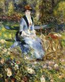 """In the Roses,"" by Pierre-Auguste Renoir, 1882, sold by Huguette Clark in 2003."
