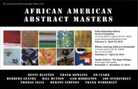 "Anita Shapolsky Gallery presents a group exhibition ""African American Abstract Masters"""