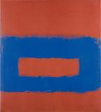 Cool Series,(Blue over Red), ca.  1961-1963