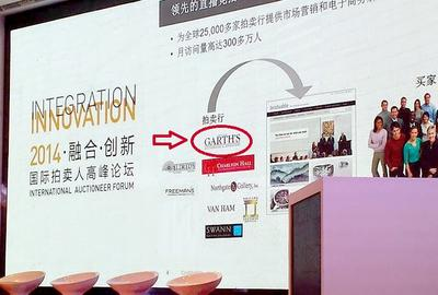 Amelia Jeffers visited China for the 2014 International Auctioneer Forum.