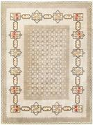 French Art Deco Rug 48257 by Leleu at Nazmiyal Collection