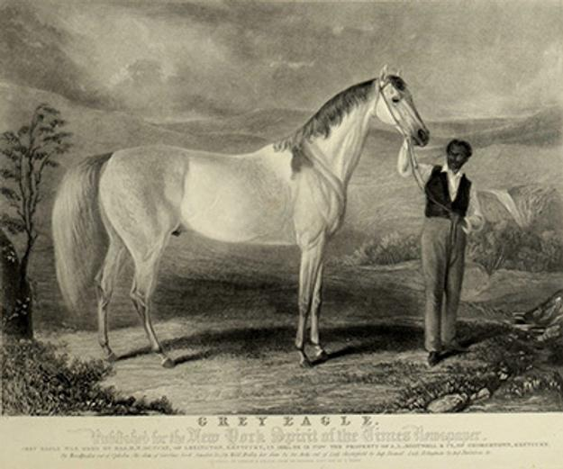 Circa 1830s engraving of Troye's famous painting.