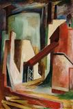 Richard Haines, The Plant, circa 1939, gouache on board, 30 x 20 inches, $6,000