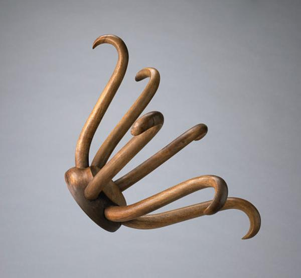 "Marcel Duchamp, ""Porte Chapeau (Hat Rack),"" Conceived in 1917/Executed in 1964.  Edition: 5/8 + 3 Aps.  Photo: National Gallery of Canada.  © Association Marcel Duchamp / ADAGP, Paris / Artists Rights Society (ARS), New York 2018"
