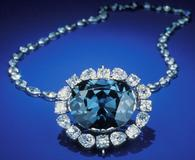 the Hope Diamond in its current setting