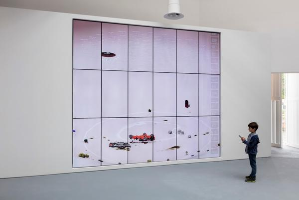 Ian Cheng Installation view: BOB, Central Pavilion, Giardini, Venice Biennale, Venice, 2019 Copyright Ian Cheng Courtesy the artist and Gladstone Gallery, New York and Brussels Photography by: Andrea Rossetti
