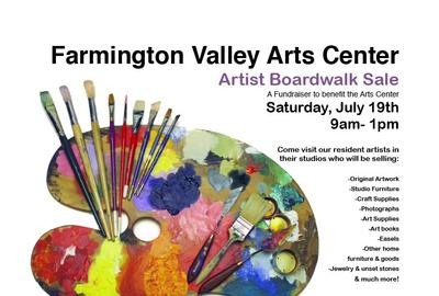 Artist Boardwalk Tag Sale Farmington Valley Art Center