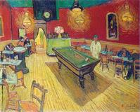 Vincent Van Gogh's Night Cafe.