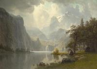 Albert Bierstadt at Wadsworth Antheneum