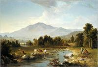 """High Point: Shandaken Mountains"" (1853), by Asher Brown Durand.  Metropolitan Museum of Art."