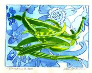 Fine Art Daily, green bean harvet