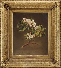 Martin Johnson Heade, Apple Blossoms, is part of James Julia's Spectacular 4-Day Maine Auction