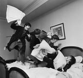 Harry Benson (B.  1929 - ), Beatles Pillow Fight, George V Hotel, Paris, 1964, Archival Pigment Print.