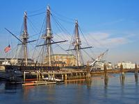 The replica of brig Beaver will be renovated as part of the new Boston Tea Party Museum & Ships.
