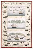 On Nantucket is the exhibit of Embroidered Narratives by Susan Boardman with biographies by Betsy Tyler, in the Peter Foulger Gallery, Whaling Museum, July 2 – November 8, 2010.