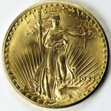 "A 1933 ""Double Eagle"" $20 gold coin."
